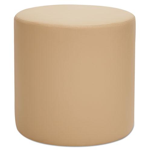 "Alera® Alera WE Series Collaboration Seating, Circle Bench, 18"" dia x 18""h, Beige"