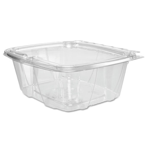 Dart® ClearPac Container, 6.4 x 2.6 x 7.1, 32 oz, Clear, 200/Carton