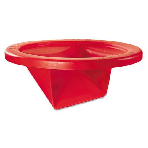 KatchAll Flatware Retriever, Round, 22.25 dia x 10.5h, 32 gal Capacity, Red