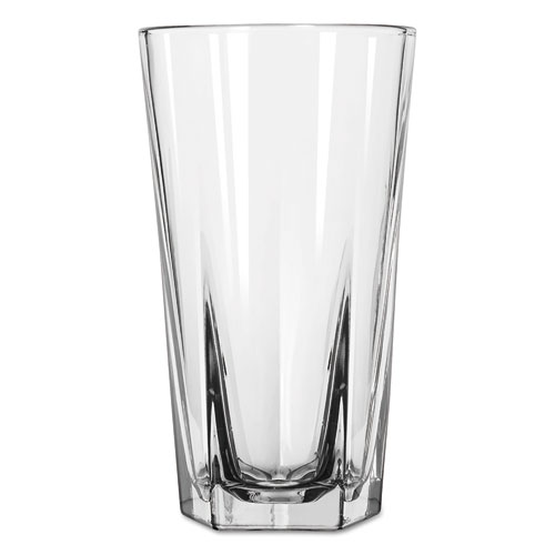Inverness Glass Tumblers, Cooler, 15.25oz, 6 1/8in. Tall, 24/Carton 15477