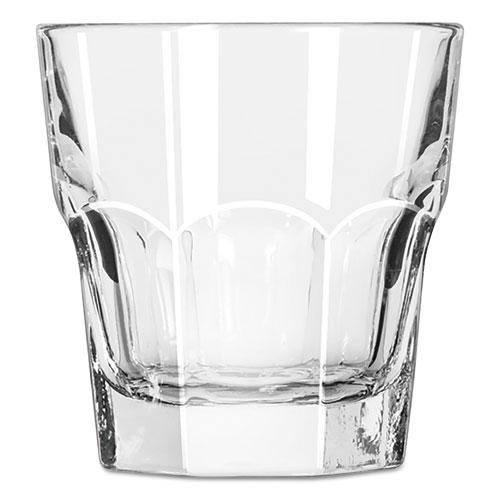Gibraltar Rocks Glasses, 7 oz, Clear, 36/Carton 15245