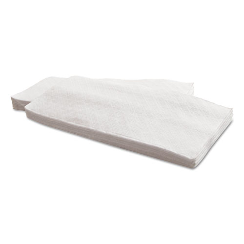 Morsoft Dinner Napkins, 1-Ply, 15 x 17, White, 141/Pack, 32 Packs/Carton