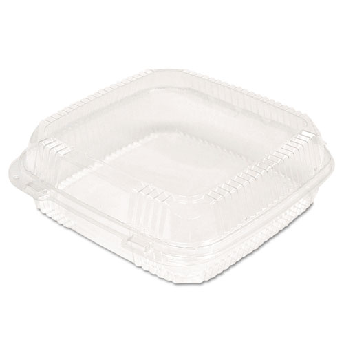 ClearView SmartLock Food Containers, 9 7/32 x 8 7/8 x 2 29/32, 200/Carton | by Plexsupply