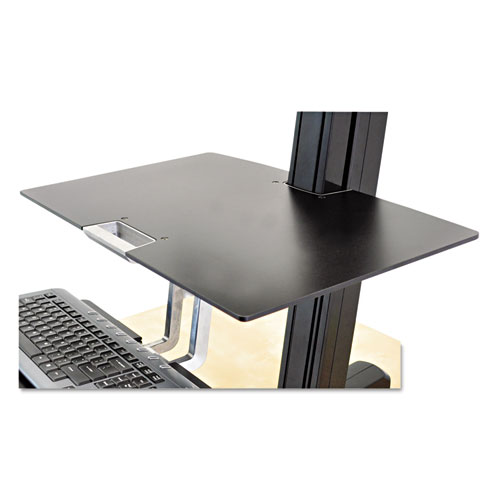 Worksurface for WorkFit-S, Black