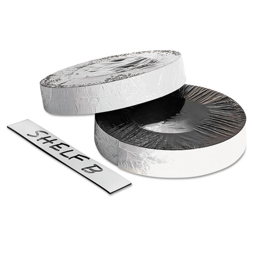 """Dry Erase Magnetic Label Tape, White,1"""" x 50 ft. 
