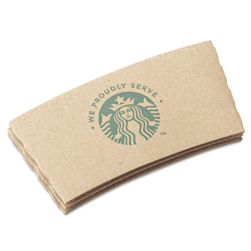 Cup Sleeves, For 12/16/20 oz Hot Cups, Kraft, 1380/Carton 11020575