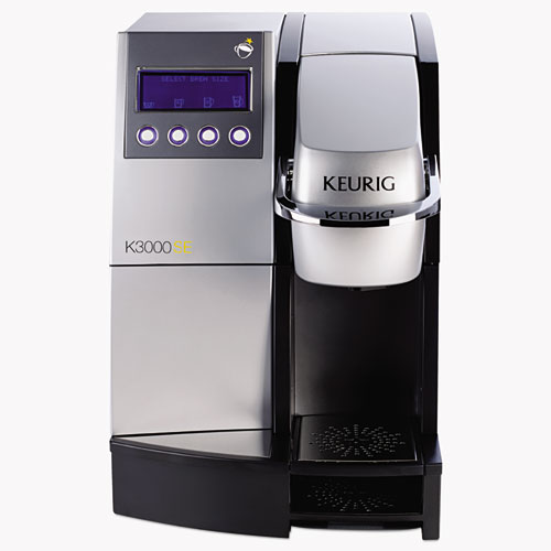K3000SE Commercial Brewer, 12w x 18d x 17 2/5, Silver/Black
