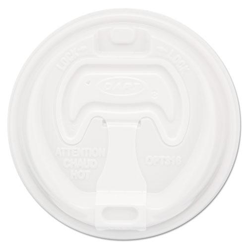 Optima Reclosable Lid, Fits 12-24 oz Foam Cups, White, 1000/Carton