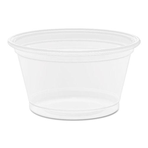 Conex Complements Polypropylene Portion/Medicine Cups, 0.75 oz, Clear, 125/Bag, 20 Bags/Carton