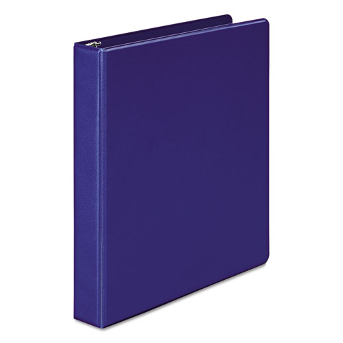 368 Basic Round Ring Binder, 1in. Cap, Dark Blue 36814NBL