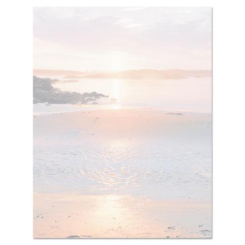 Geographics® Design Suite Paper, 24 lbs., Shoreline, 8 1/2 x 11, Earthtones, 100/Pack