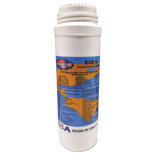 Omnipure Filter Cartridge KQ8 for K150P, B3000SE, and Bolt