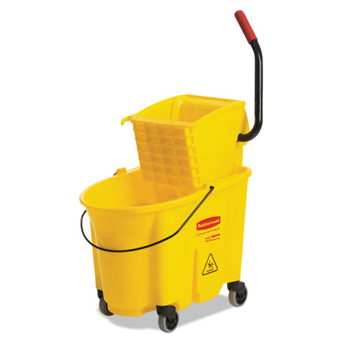 7920013433776, Combination Wet Mop Bucket and Wringer, 35qt, Yellow
