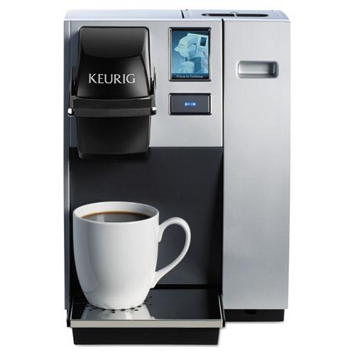 K150 Brewing System, Silver/Black, 10.4W x 14D x 13.9H