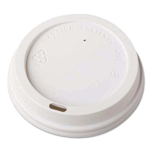 Dome-Design Hot Cup Lids, Fits 12oz. 16oz. 20oz. Cups, White, 1000/Carton 1117280