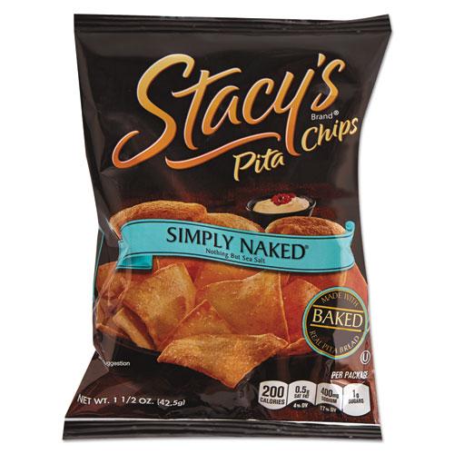 Stacy's® Pita Chips, 1.5 oz Bag, Original, 24/Carton