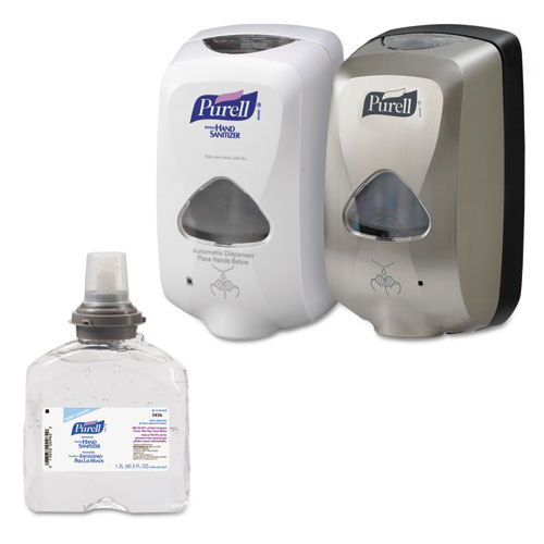 PURELL® Advanced TFX Foam Instant Hand Sanitizer Refill, 1200 mL, White