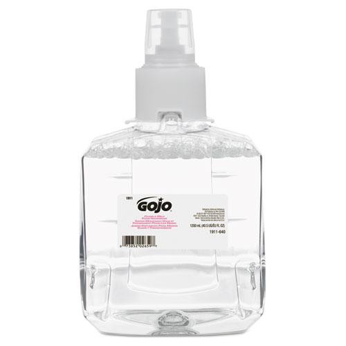 GOJO® Clear & Mild Foam Handwash Refill, Fragrance-Free, 1200mL Refill