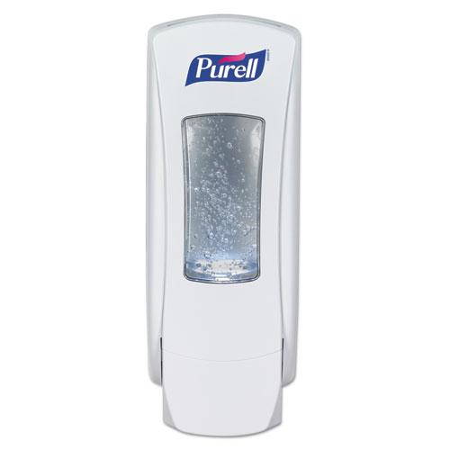 """PURELL® ADX-12 Dispenser, 1200 mL, 4.5"""" x 4"""" x 11.25"""", White"""