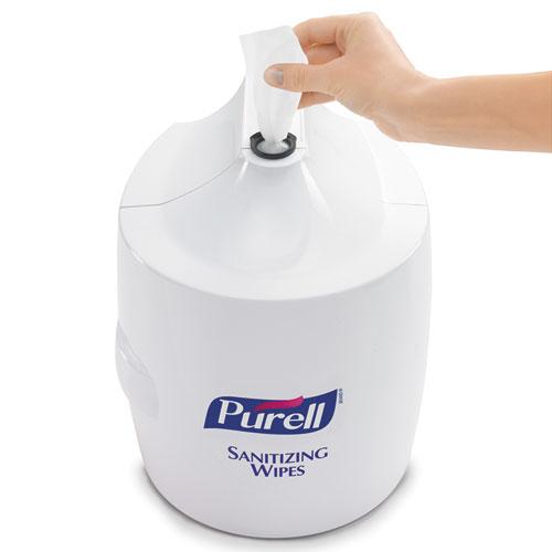Goj901901 Purell Hand Sanitizer Wipes Wall Mount Dispenser Zuma