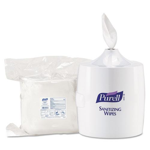 Purell 9019 01 Hand Sanitizer Wipes Wall Mount Dispenser