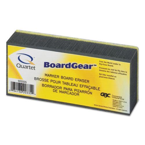 BoardGear Dry Erase Board Eraser, Foam, 5w x 2 3/4d x 1 3/8h | by Plexsupply