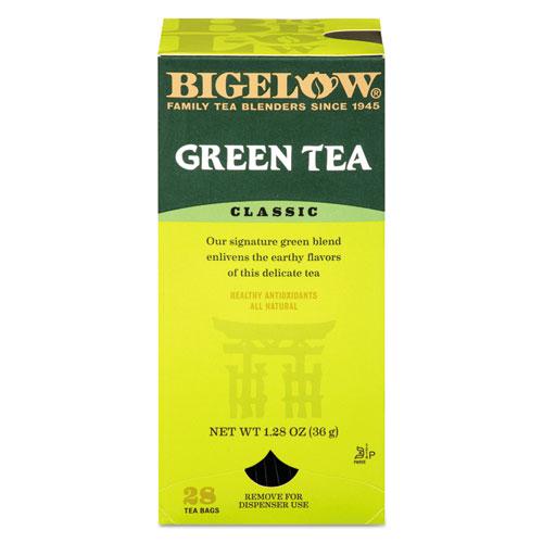 Single Flavor Tea, Green, 28 Bags/Box 00388