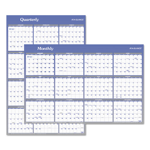 Calendar Vertical List : Vertical horizontal erasable wall planner