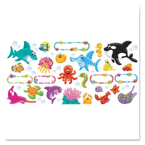 TREND® Sea Buddies Bulletin Board Set, 18 1/4 x 31, 47 Pieces
