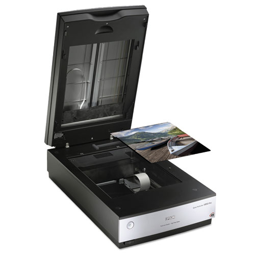 Perfection V850 Pro Scanner, Scans Up to 8.5 x 11.7, 6400 dpi Optical Resolution