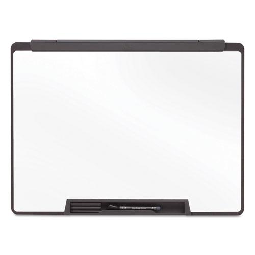 Motion Portable Dry Erase Board, 36 x 24, White, Black Frame | by Plexsupply