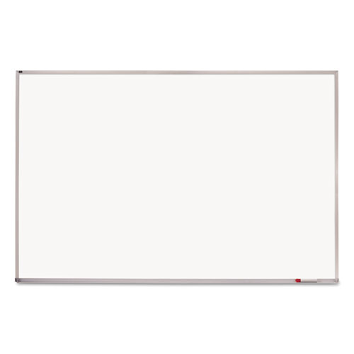 Porcelain Magnetic Whiteboard, 96 x 48, Aluminum Frame | by Plexsupply
