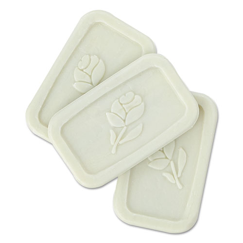 Unwrapped Amenity Bar Soap, Fresh Scent,  1/2, 1,000/Carton
