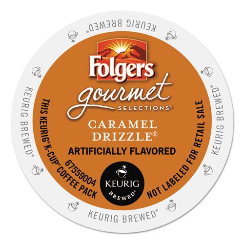 Caramel Drizzle Coffee K-Cups, 24/Box 6680
