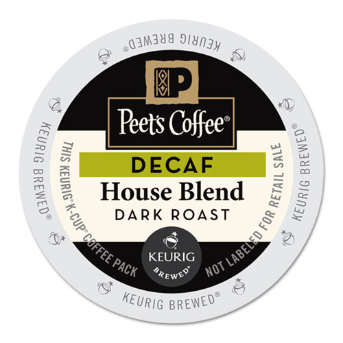 Peet's Coffee & Tea® House Blend Decaf  K-Cups, 22/Box