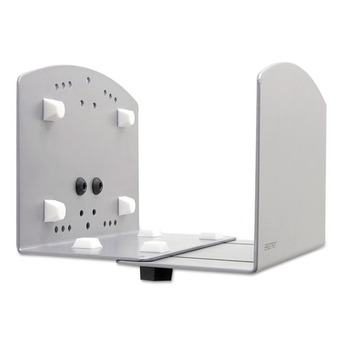 Vertical Universal CPU Holder, 2 to 8w x 10d x 6.63h, Silver