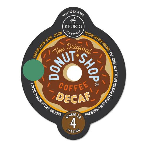 The Original Donut Shop® Extra Bold Coffee Vue Pack, Decaf, 16/Box