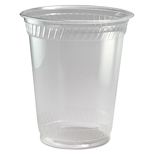 Greenware Cold Drink Cups, Clear, 12 oz., 100/Pack GC12S