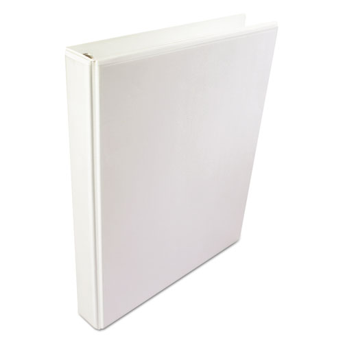 Wilson jones - international a4 size 4-ring view binder, 3-inch capacity, white, sold as 1 ea