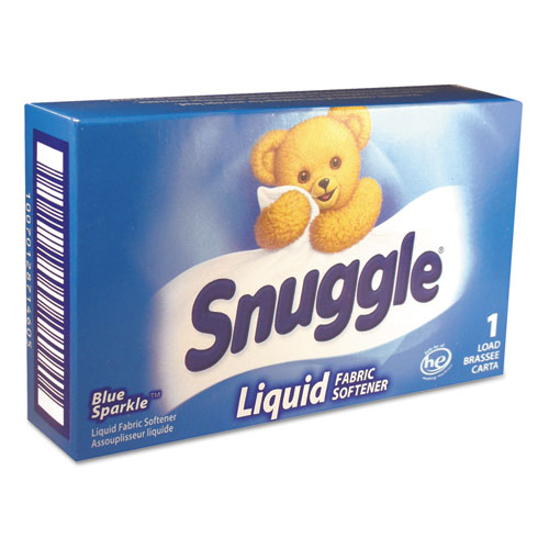 Snuggle® Liquid HE Fabric Softener, Original, 1 Load Vend-Box, 100/Carton