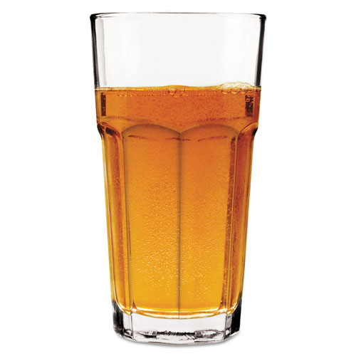 New Orleans Cooler Glass, Tall, 16 oz, Clear, 36/Carton