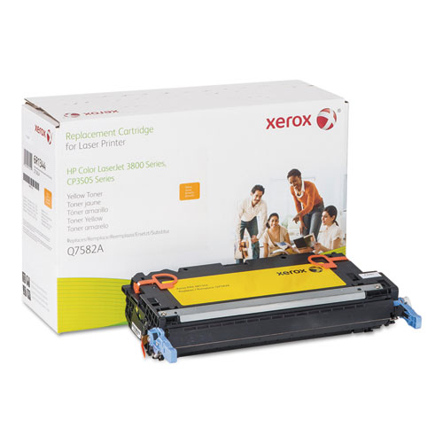 Xerox® 006R01344 Replacement Toner for Q7582A (503A), Yellow