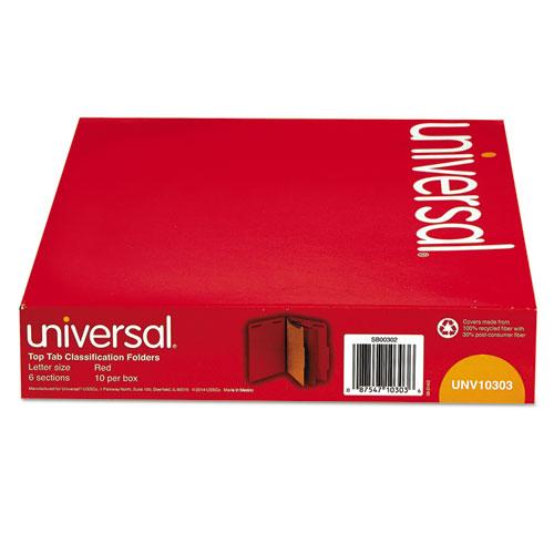 Unv10303 Universal 174 Classification Folders Zuma