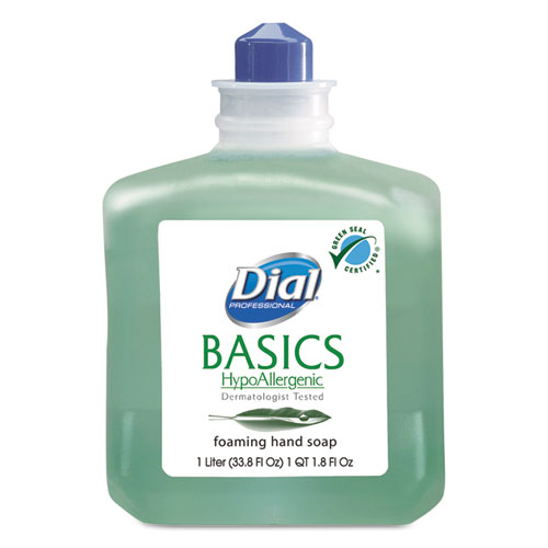 Basics Foaming Hand Wash, Refill, 1000mL, Honeysuckle, 6/Carton