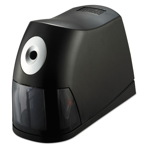 Electric Pencil Sharpener, AC-Powered, 2.75 x 7.5 x 5.5, Black