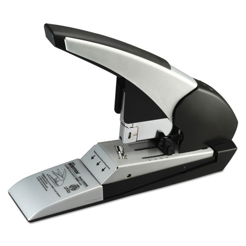 Auto 180 Xtreme Duty Automatic Stapler, 180-Sheet Capacity, Silver/Black | by Plexsupply