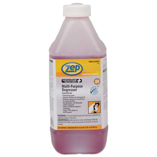 Zep Professional® Advantage+ Concentrated Multipurpose Degreaser, 67.6 oz Bottle, 4/Carton