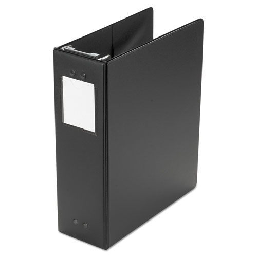 "Wilson Jones® Large Capacity Hanging Post Binder, 3"" Cap, Black"