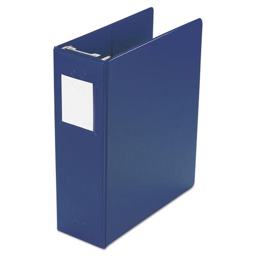 Wilson jones - large capacity hanging post binder, 11 x 8-1/2, 2-inch capacity, blue, sold as 1 ea