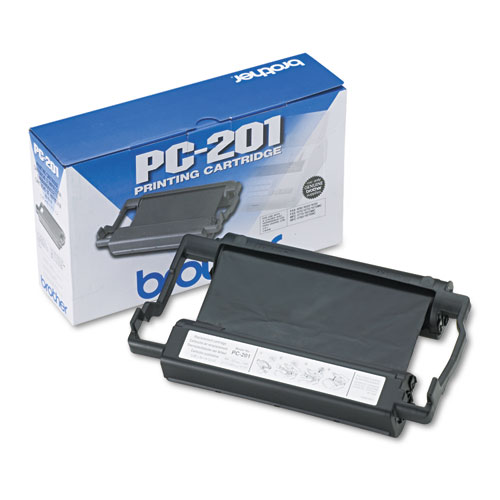 PC-201 Thermal Transfer Print Cartridge, 450 Page-Yield, Black